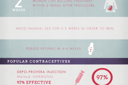Caring For Your Health After Your Abortion Infographic