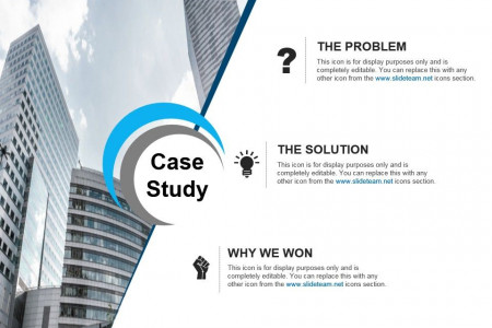 Case Study For Marketing Research Powerpoint Slide Infographic