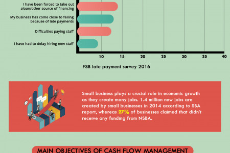 Cash Flow Management : Objectives  Infographic