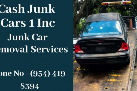 Cash For Junk Cars In Lauderdale Lakes, FL Infographic