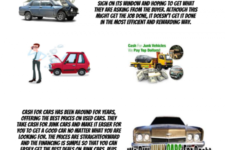 Cash for Your Junk Cars at Kansas City Infographic