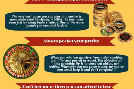 Casino Gaming Tips Infographic