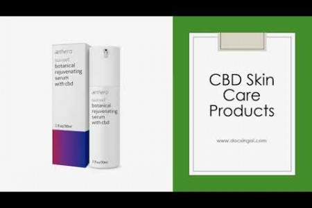 CBD Skin Care Products - DOC Singal Infographic
