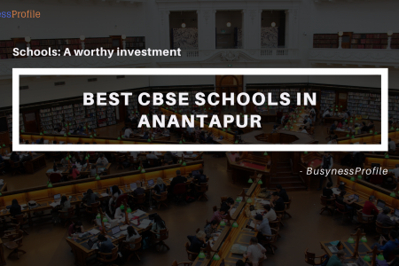 CBSE Schools in Anantapur - BusynessProfile Infographic