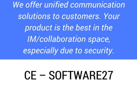 CE - SOFTWARE27 Testimonial Infographic
