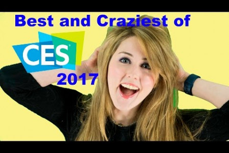 CES 2017 Highlights Infographic