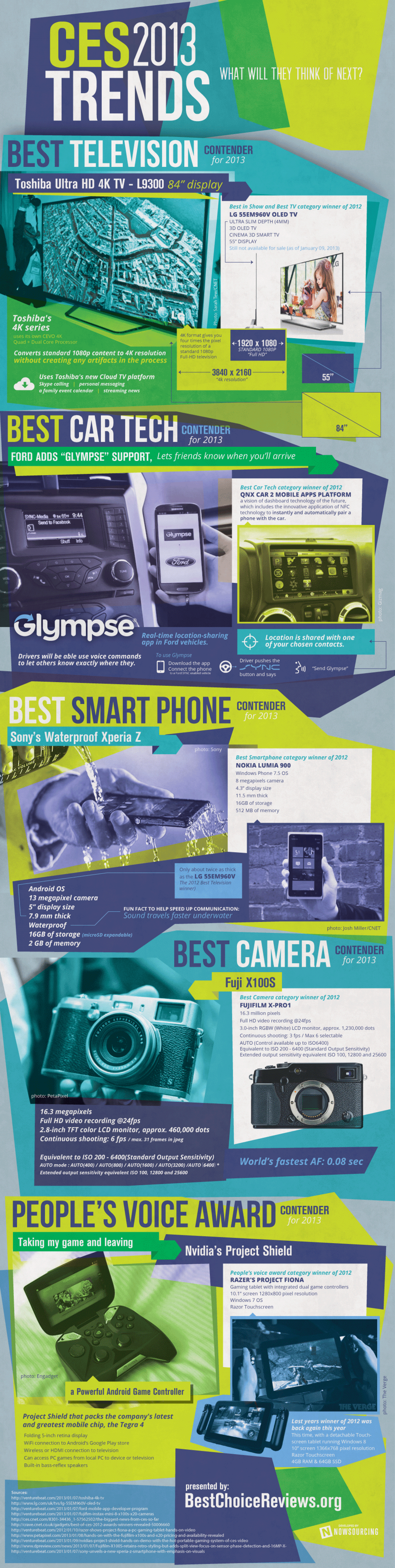 CES Trends 2013 Infographic
