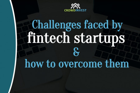 Challenges faced by fintech startups and how to overcome them Infographic