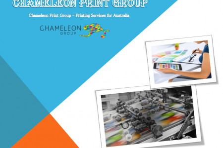 Chameleon Print Group - Printing Services for Australia Infographic