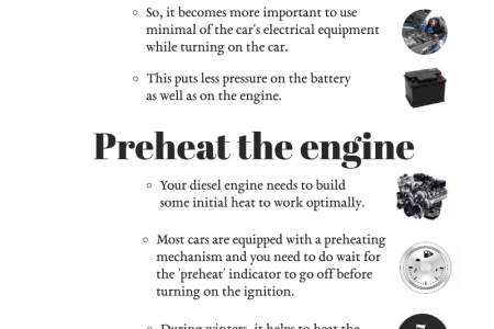 Changing Your Driving Practices for Diesel Engine Cars Infographic