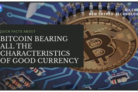 Characteristics of Bitcoin Infographic