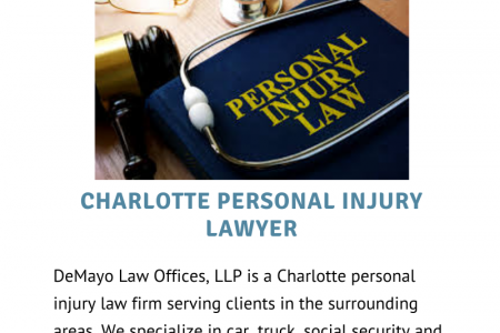 Charlotte NC Personal Injury Attorneys Infographic