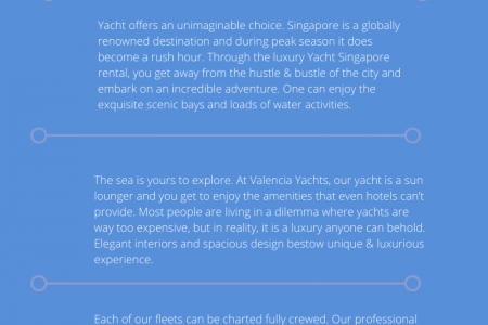 Charter Yacht Singapore Rental – Even Non Sailor Should Go for Ultimate Ecstasy Infographic