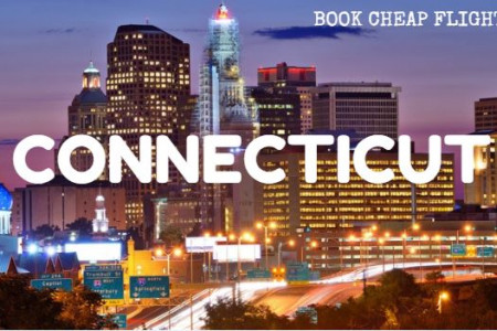 Cheap Flight To Connecticut: Book Cheap Flights & Tickets on Flycoair Infographic
