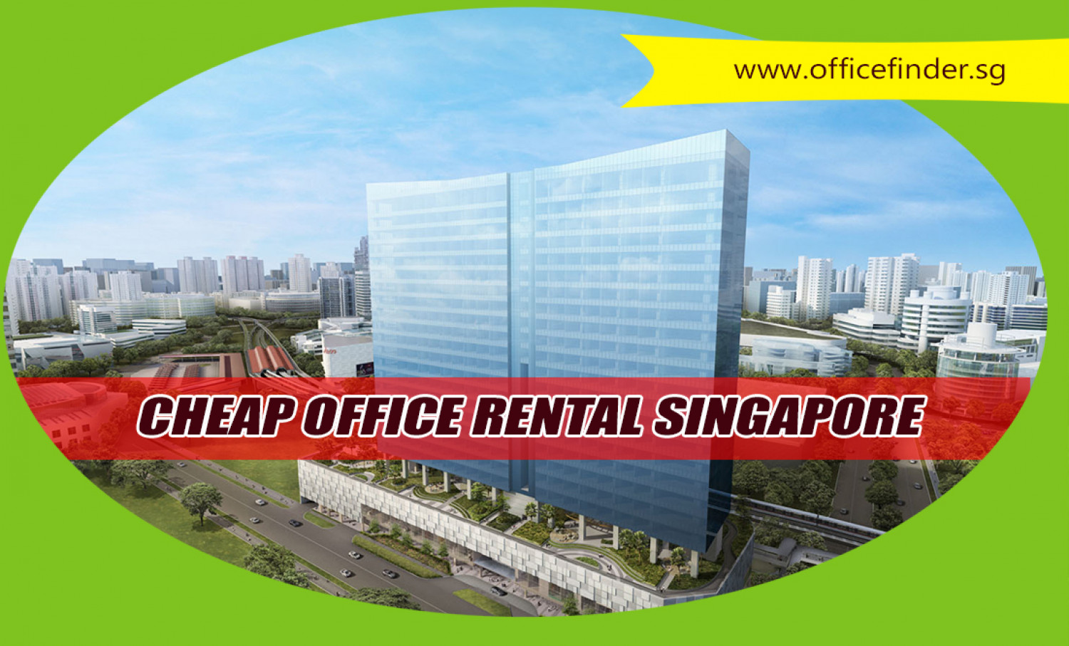 Cheap Office Rental Singapore Infographic