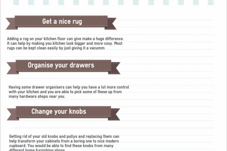 Cheap ways on how to improve your home Infographic