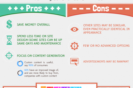 Cheap Websites vs Custom Websites Infographic