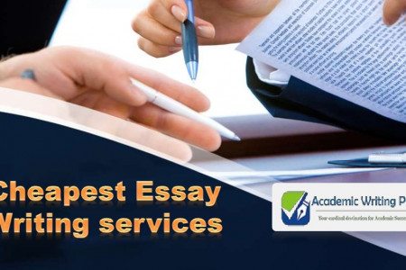 Cheapest Essay Writing services Infographic