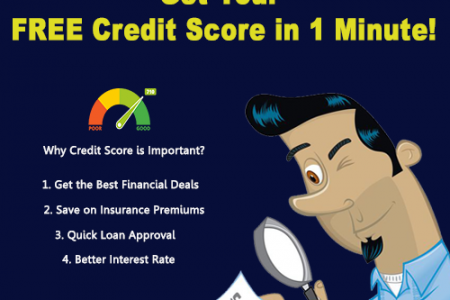 Check Credit Score Online Infographic