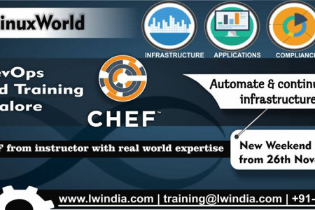 Chef DevOps Weekend Training in Bangalore Infographic