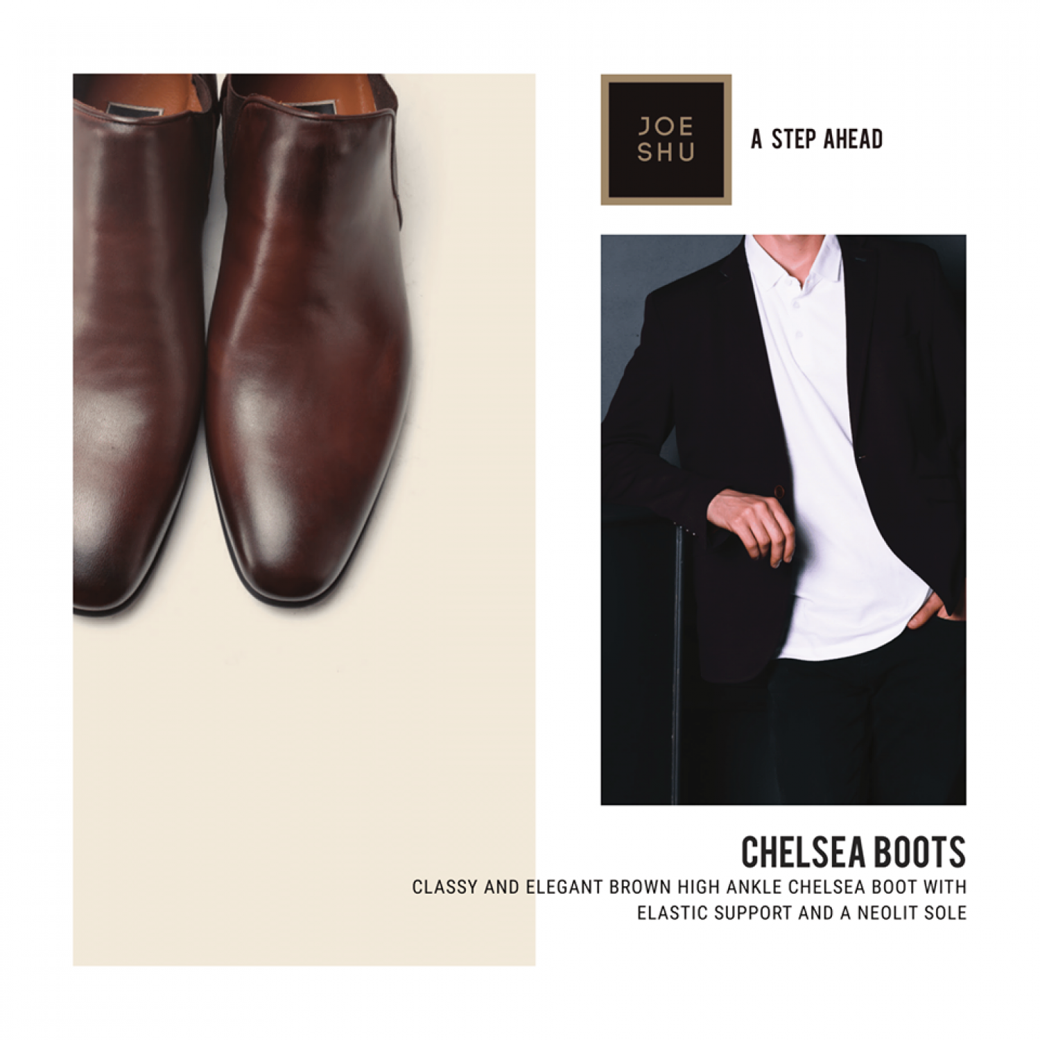 Chelsea Boots For Men | High Top Shoes For Men  Infographic