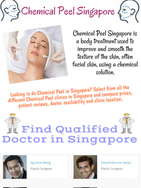 Chemical Peel Treatment in Singapore  Infographic