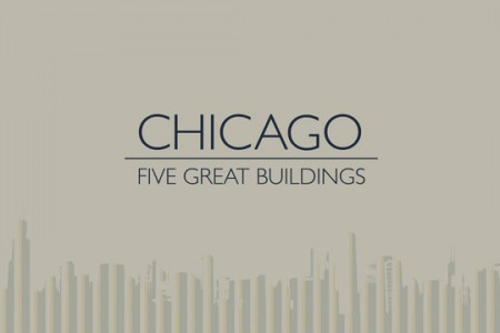Chicago - 5 Great Buildings Infographic