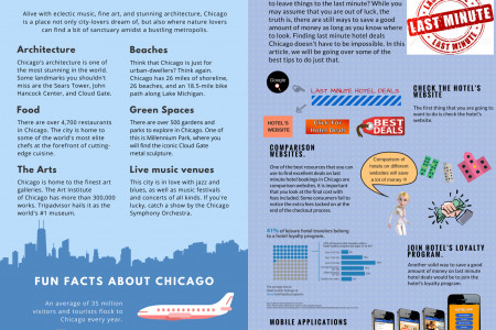 Chicago- Book and Go Hotels  Infographic