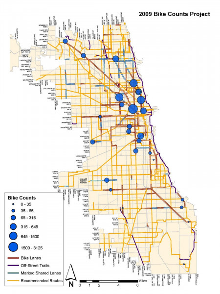 Chicago's Bike Improvements are Paying Off with Higher Ridership Infographic