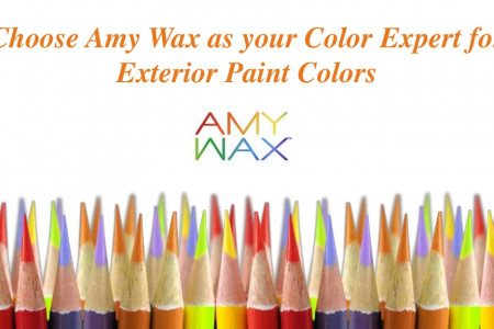Choose Amy Wax as your Color Expert for Exterior Paint Colors Infographic