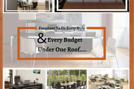 Choose Antique Collection of Office Furniture Infographic