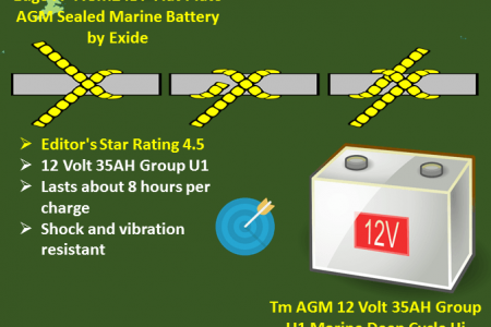Choose the best battery for your trolling motor Infographic