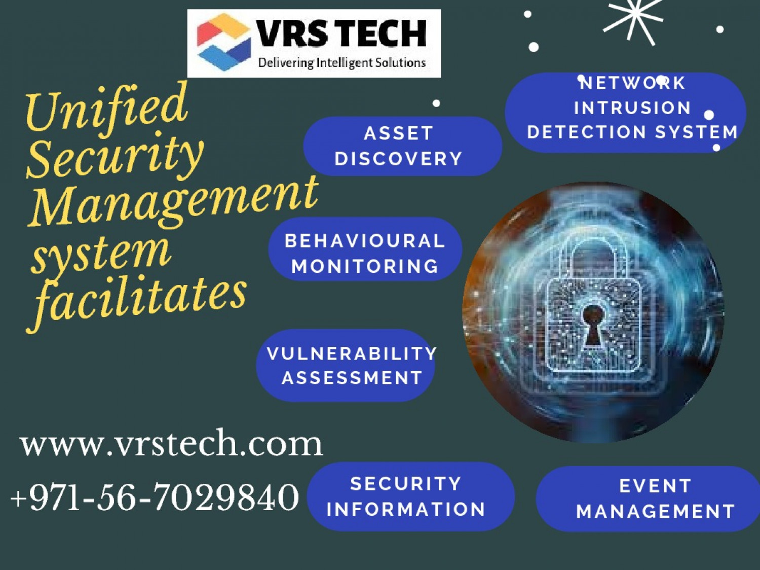 Choose The Best Unified Security Management Dubai Infographic