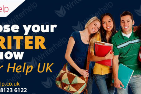 Choose your Writer NOW with Writer Help UK Infographic