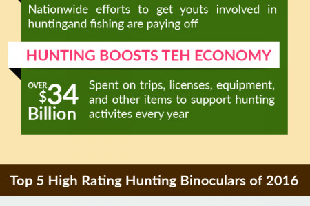 Choosing Best Binoculars For Hunting Reviews With Comparison Charts 2016 Infographic