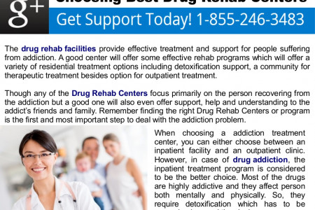 Choosing Best Drug Rehab Centers Infographic
