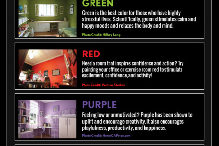 Choosing the Best Color for Your Mood Infographic