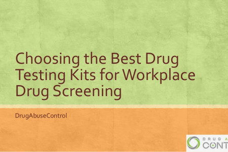 Choosing the Best Drug Testing Kits for Workplace Infographic
