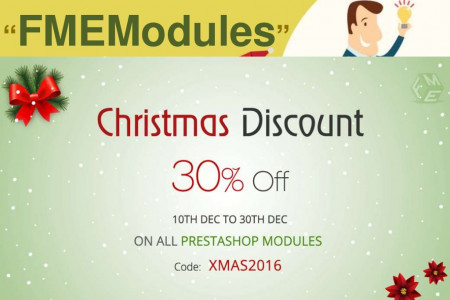 Christmas Sales PrestaShop Modules by FMEModules Infographic