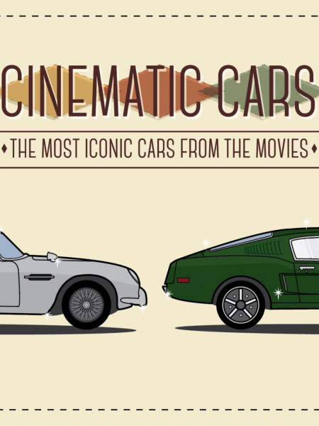 Cinematic Cars: The Most Iconic Cars From The Movies Infographic