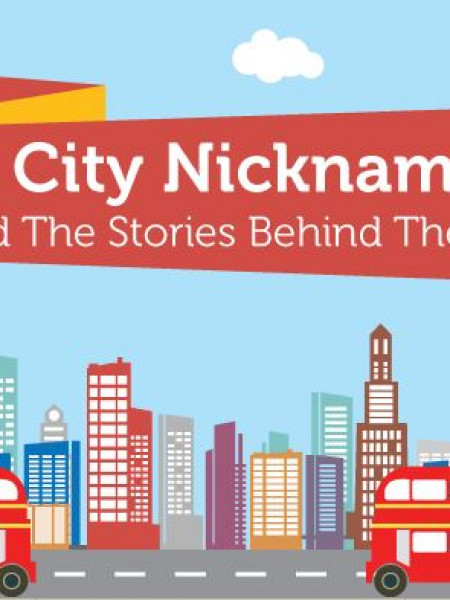 City Nicknames and The Stories Behind Them Infographic