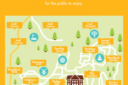 Cleaning the Walton Hall & Gardens Infographic