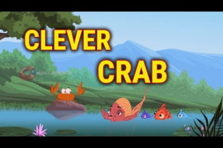 Clever Crab | Panchatantra English Moral Stories For Kids | Maha Cartoon TV English Infographic