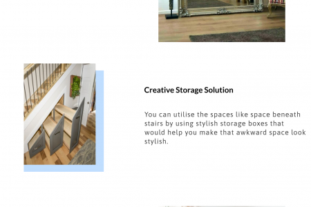 Clever Designs for Small Spaces Infographic
