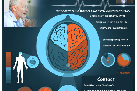Clinic for Health and Medical Care FZ-LLC Infographic