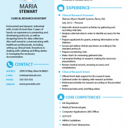 Clinical research assistant resume sample visual yelopaper Choice Image