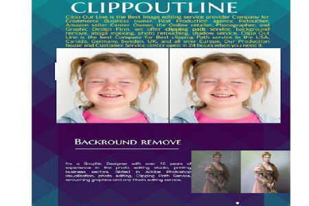 Clipping Path Service I Establish Your Online Business Infographic