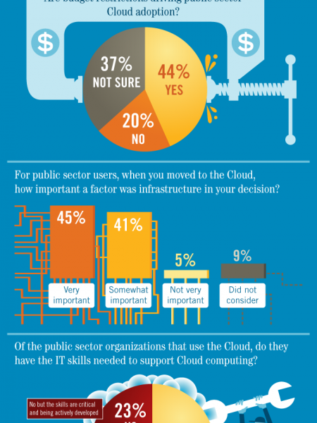 Cloud Computing and The Public Sector Infographic