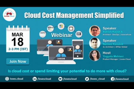 Cloud cost management simplified - Loves Cloud Infographic