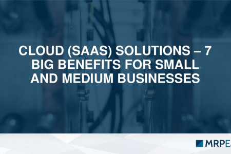 Cloud (SaaS) Solutions: 7 Big Benefits for Small and Midsized Businesses. Infographic
